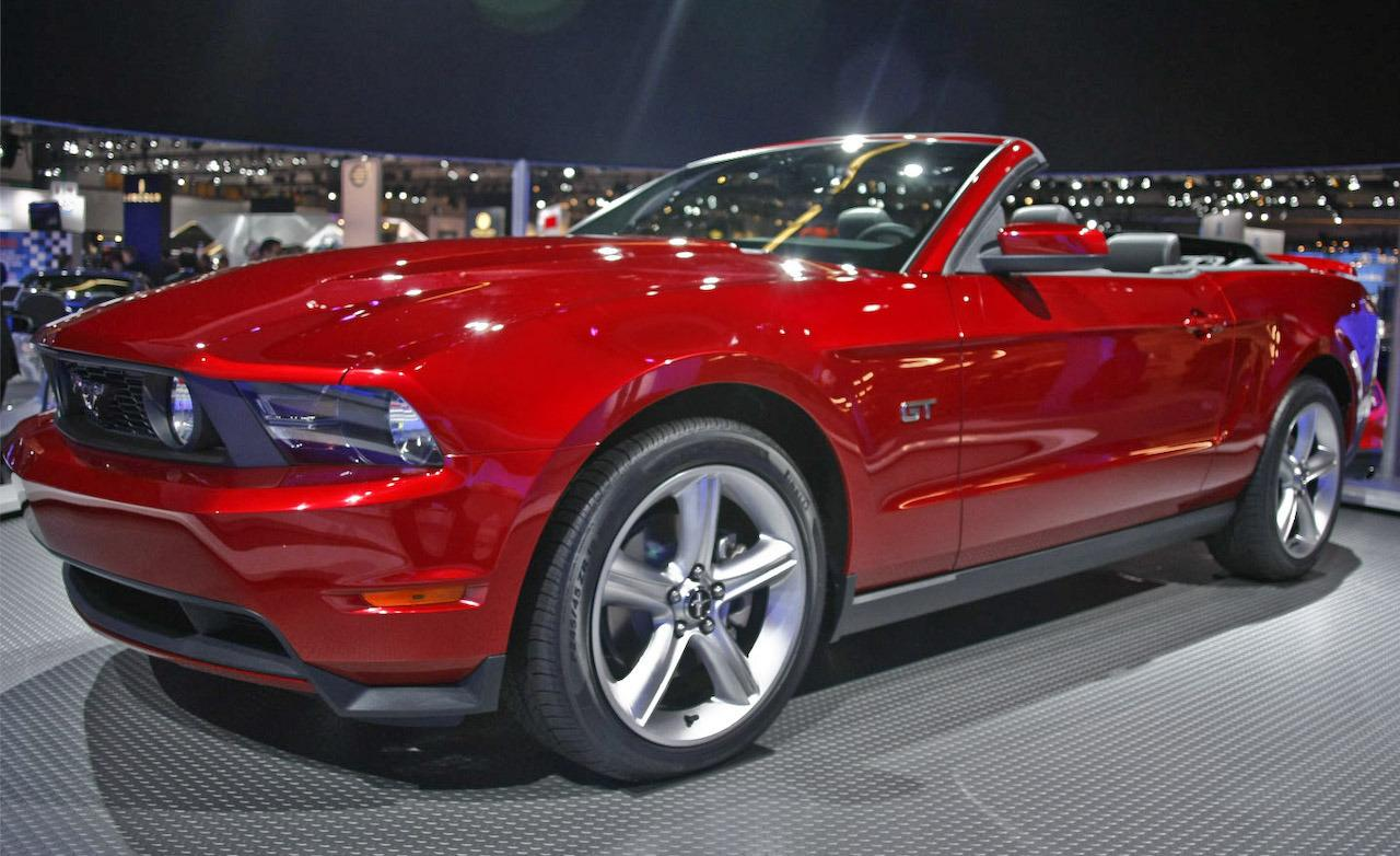 2010 ford mustang gt convertible photo - Ford Mustang Convertible 2010